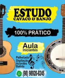 Aula Prática Banjo / Cavaquinho