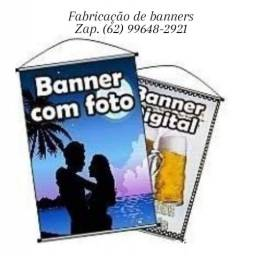 FABRICAÇÃO de banner, cavaletes e quadros propaganda!
