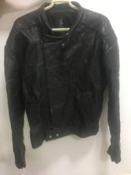 Jaqueta de Couro - tamanho 54
