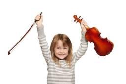 Aulas de violino e flauta doce - início em março/21