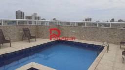 Apartamento para alugar com 2 dormitórios em Guilhermina, Praia grande cod:1807