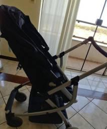 Carrinho urbini moises + bebê conforto + base