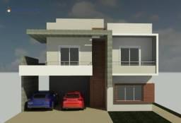 Casa com 3 dormitórios à venda, 223 m² por R$ 960.000,00 - Condomínio Via Castelli - Louve