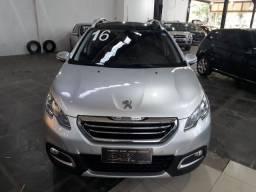 Peugeot 2008 griffe 2015/2016 Prata 1.6 Flex Completo automático
