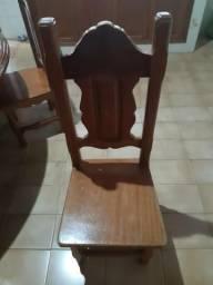 Mesa de 8 lugares, madeira cerejeira