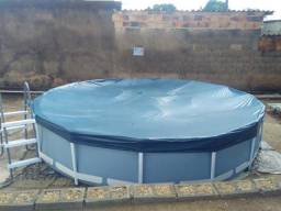 Piscina Intex 12 Mil Litros 90 cm x 5 Mts