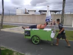 Carrinho de coco