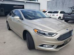 Ford Fusion Hybrid 2018 -Prata - 2018
