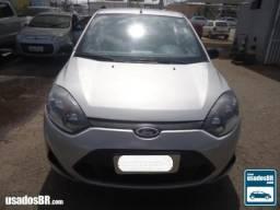 Ford Fiesta 1.0 8V Prata 2014