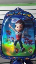 Mochila Infantil 3D Herói