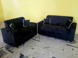 Promoção conjunto de sofá novos e embalados 2 e 3 lugares direto da fábrica ligue já