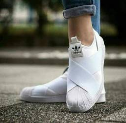 SlipOn Adidas Branco