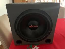 Caixa de som dutada com Spyder Nitro 15