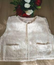 Colete de lã produção própria