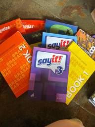Doação de livros 8 ano entre outros