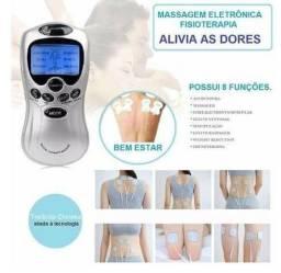 Aparelho de Massagem e Fisioterapia 8 Funções Tens e Fes
