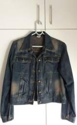Jaqueta Jeans original da marca Leporello. Nova. Tam.M.38.40