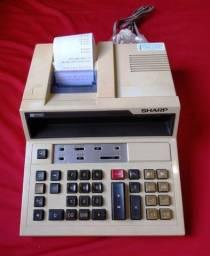 Vendo uma calculadora comercial Sharp CS-4266, Usada revisada com garantia de 90-Dias