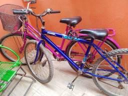 Bicicletas , tropical e a outra de macha