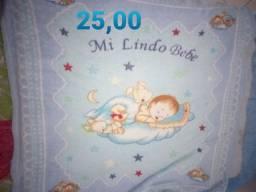 Vendo ou troco por cobertor de bebe menina