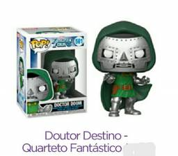 Funko Pop - Quarteto Fantástico - Doutor Destino