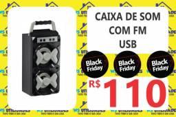 Caixa de Som Com FM/USB 580SP