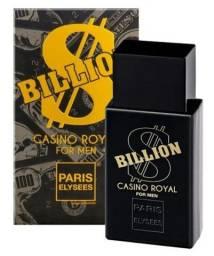 Perfumes Paris Elysees Billion rota de várias cidades Leia descrição