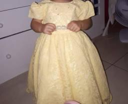 Vestido de festa veste 2 a 3 anos