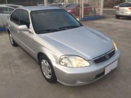 Honda Civic LX Automático 2000/2000 Revisado !