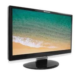 Monitor 19? Widescreen Lenovo d1960wa Usado, Aceito Cartão de Credito em até 18X
