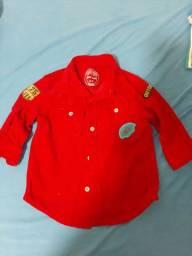Camisa esportiva baby