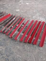Cantoneiras de aço forradas chapa 14 ( caminhão)