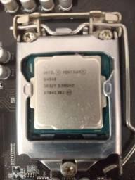 Título do anúncio: Kit Pentium g4560+placa mãe h110mh+4gb memória RAM+cooler (vendo separado)
