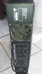 Amplificador Unic Zx200+fonte 100 amperes