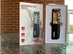 Gravador de voz portátil Tomate MT- 556 / 8GB ? 17.620 Minutos