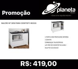 Título do anúncio: BALCÃO NT 3050 COOKTOP 5B HOBBIES COLEÇÕES
