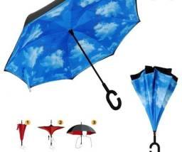 Guarda chuva invertido