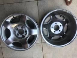 Duas rodas de liga leve Ford ranger aro 16 novas !!