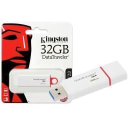Título do anúncio: Pen Drive Kingston Datatraveler  Usb 3.0 32gb - Loja Natan Abreu