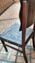 Cadeira madeira antiguidade