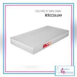 Colchão mini cama 150x70 prorelax produto novo