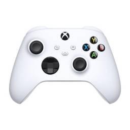 Título do anúncio: [Novo] Controle Xbox Robot White