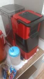 máquina de café 3 coração
