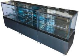 Título do anúncio: Balcão Confeitaria Refrigerado, Quente e Seco BOX