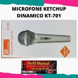 Microfone em promoção kt-701 em promoção