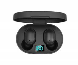 Fone De Ouvido Sem Fio E6S com Bluetooth 5.0