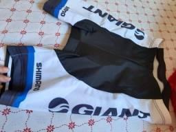 Título do anúncio: Bermuda de ciclismo com secagem rápida e almofada 9D