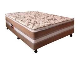 Oferta!! Cama Casal Box Acoplada Espuma D28 9cm Altura - Só R$649,00