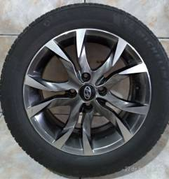 venda rodas Scorro,com pneus Michelin 185/60/15 Barbacena