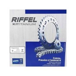 kit relação Riffel titan e fan 150/160 todas